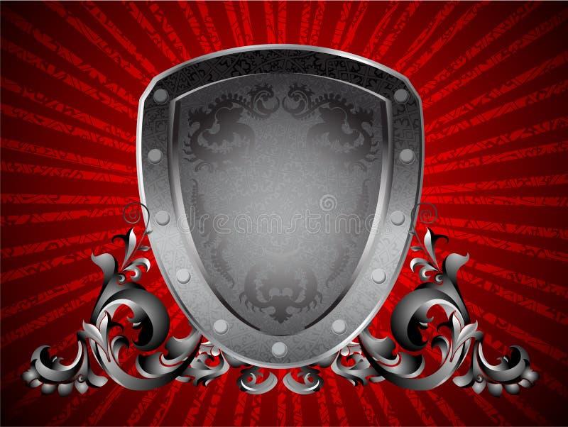 Emblema de Heroldic ilustração stock