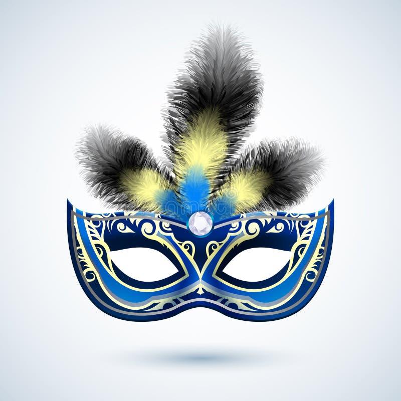 Emblema de la máscara del partido libre illustration