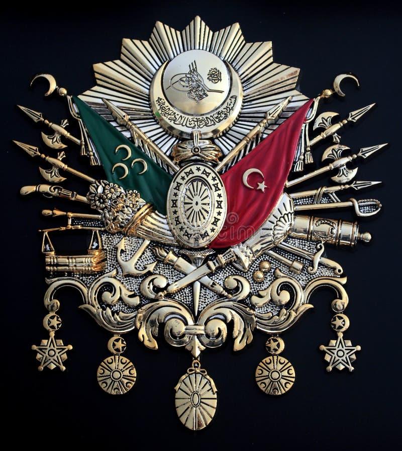 Emblema del imperio otomano imágenes de archivo libres de regalías