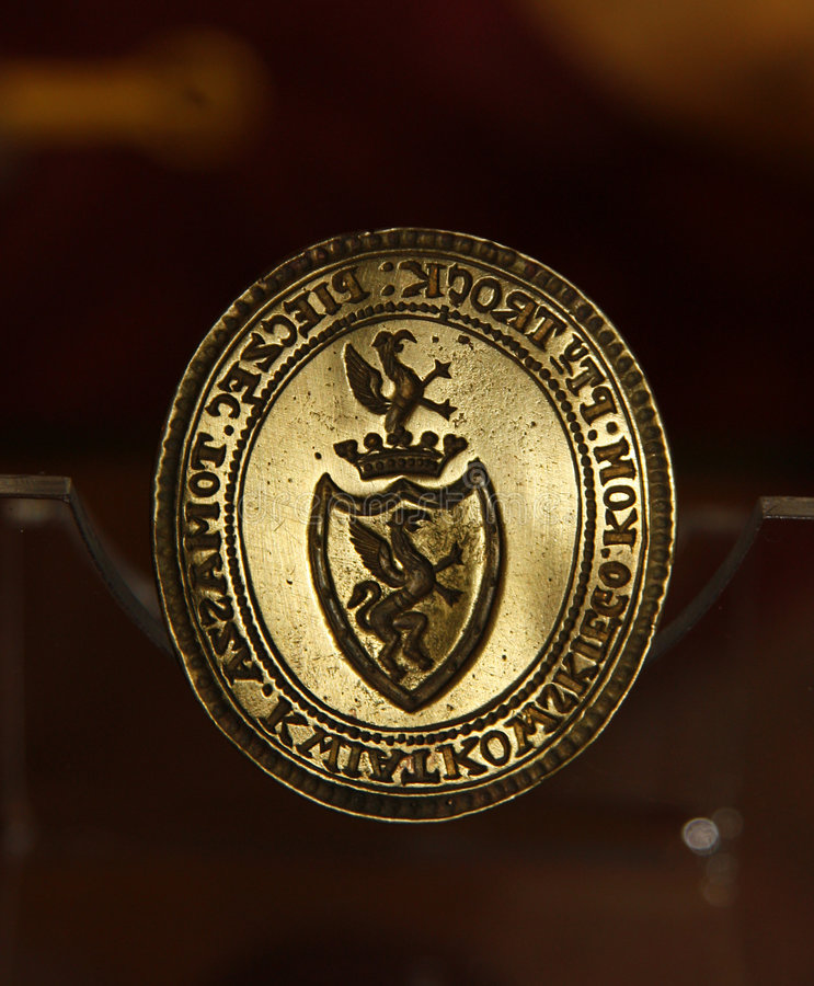 Emblema della guarnizione immagine stock libera da diritti