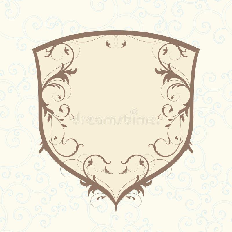 Emblema di fascino illustrazione di stock