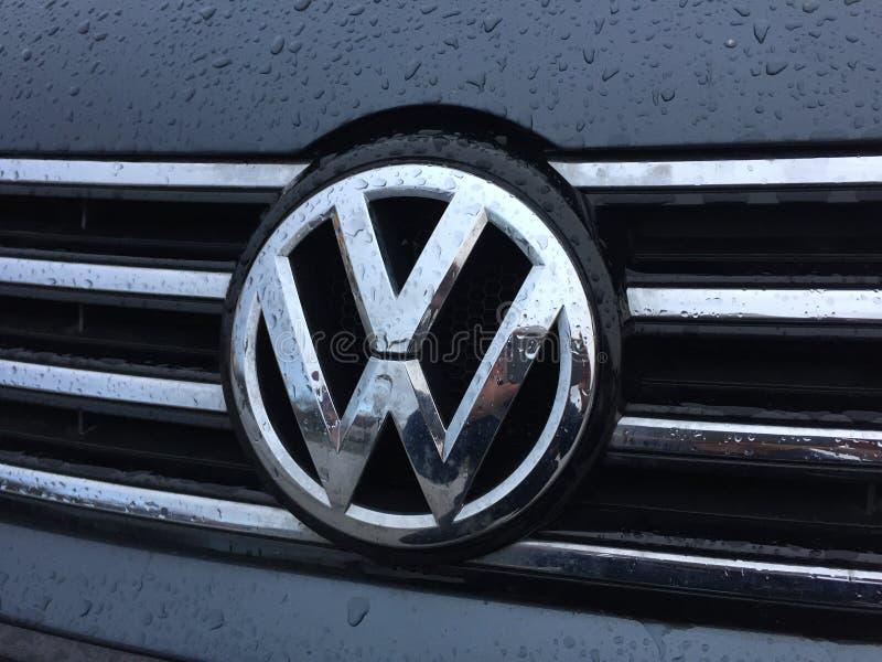Emblema di Volkswagen fotografia stock