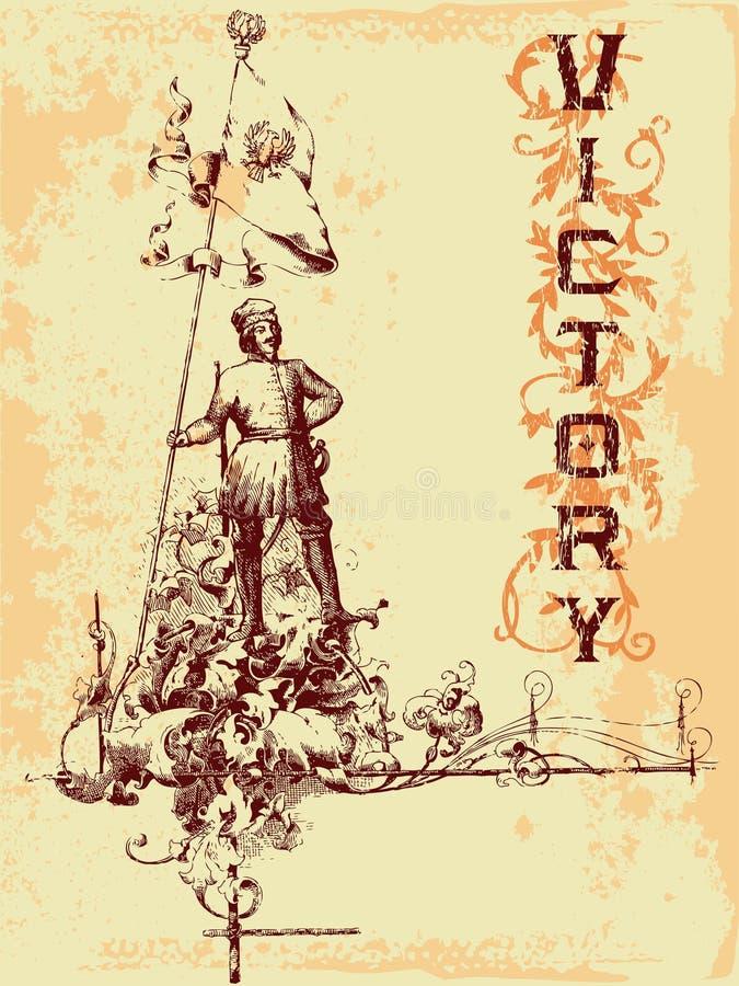 Emblema do vintage ilustração do vetor