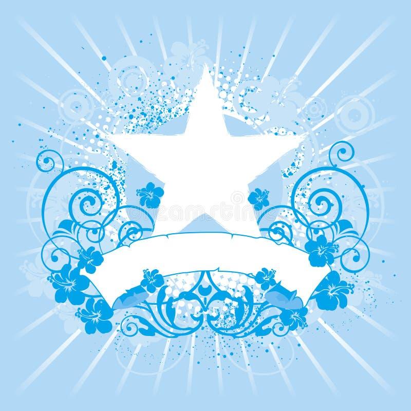 Emblema, elemento do projeto ilustração stock