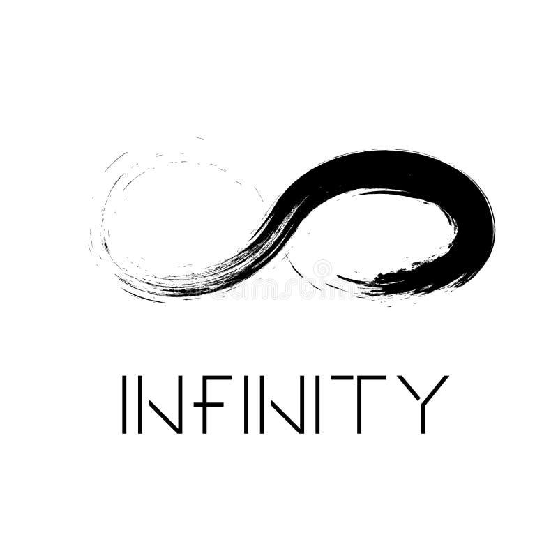 Emblema eterno, ilimitado ilustración del vector