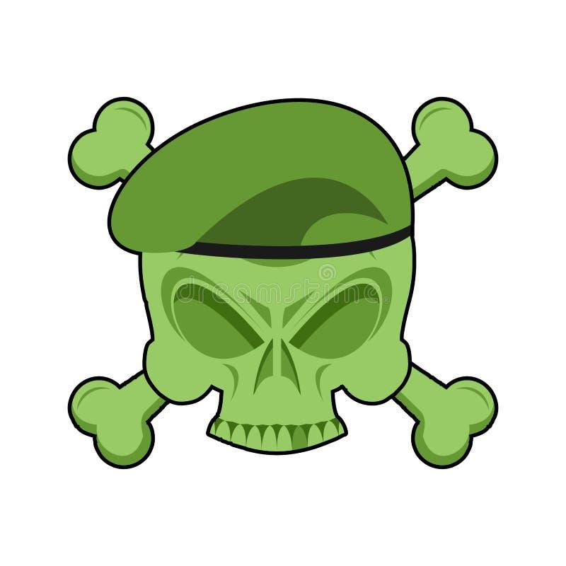 Emblema militar Logotipo do exército para tropas especiais Crachá dos soldados S ilustração royalty free