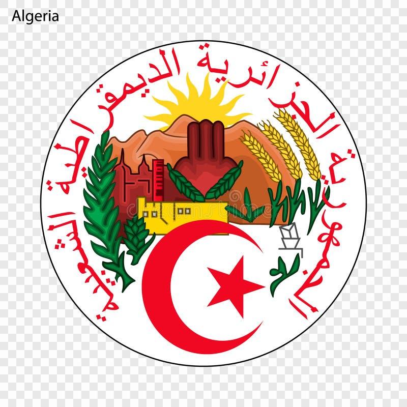 Emblema nacional ou símbolo ilustração stock