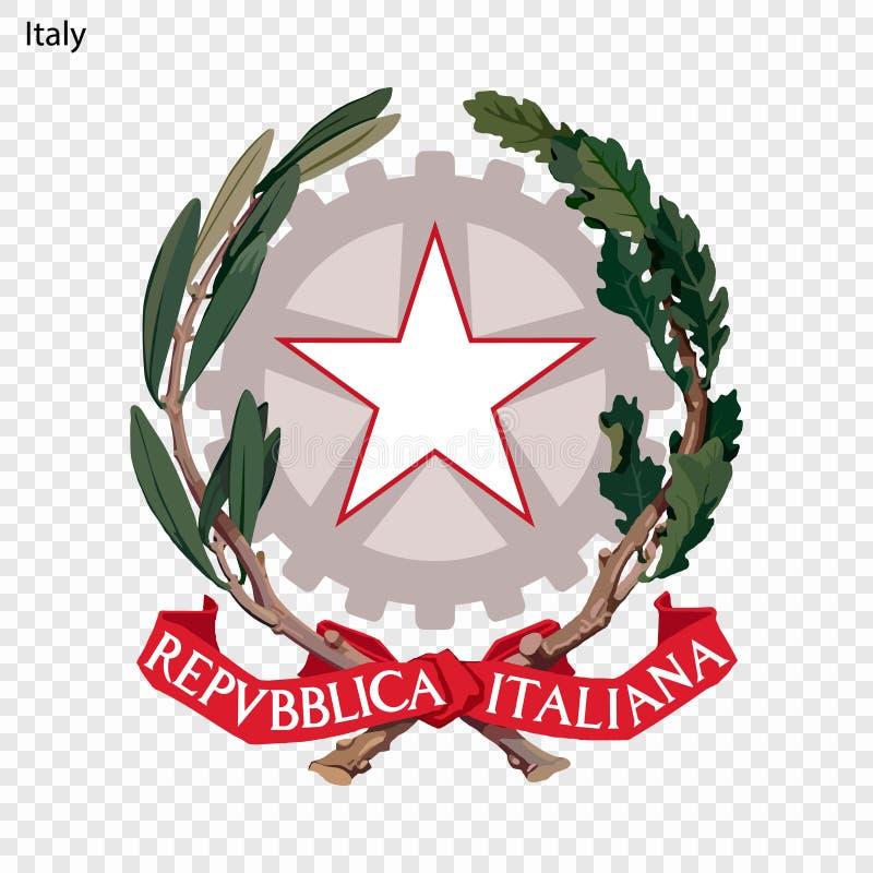 Emblema nacional ou símbolo ilustração do vetor