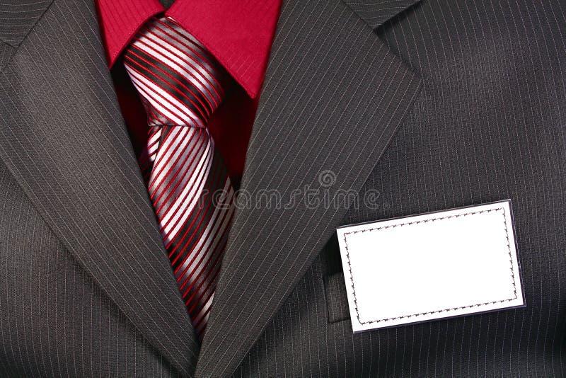 Emblema vazio da identificação do cartão fotos de stock