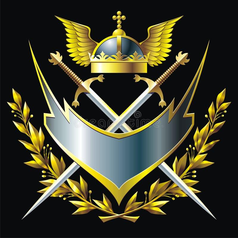 Emblemat royalty ilustracja