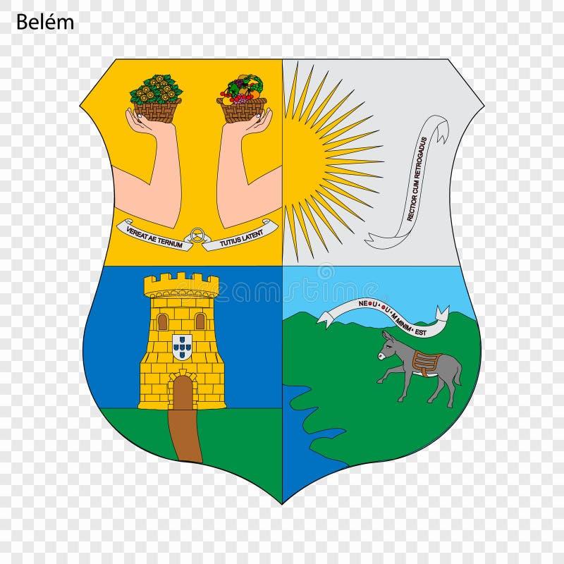 Emblemat Belem ilustracji