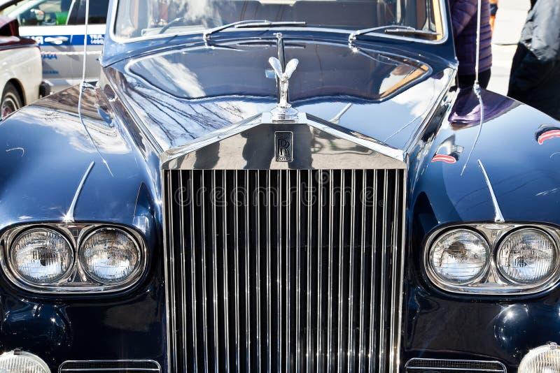 Emblemat samochodowy Rolls Royce zdjęcia stock