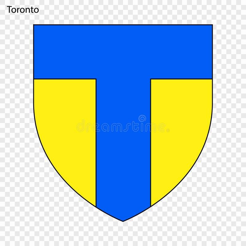 Emblemat Toronto ilustracji