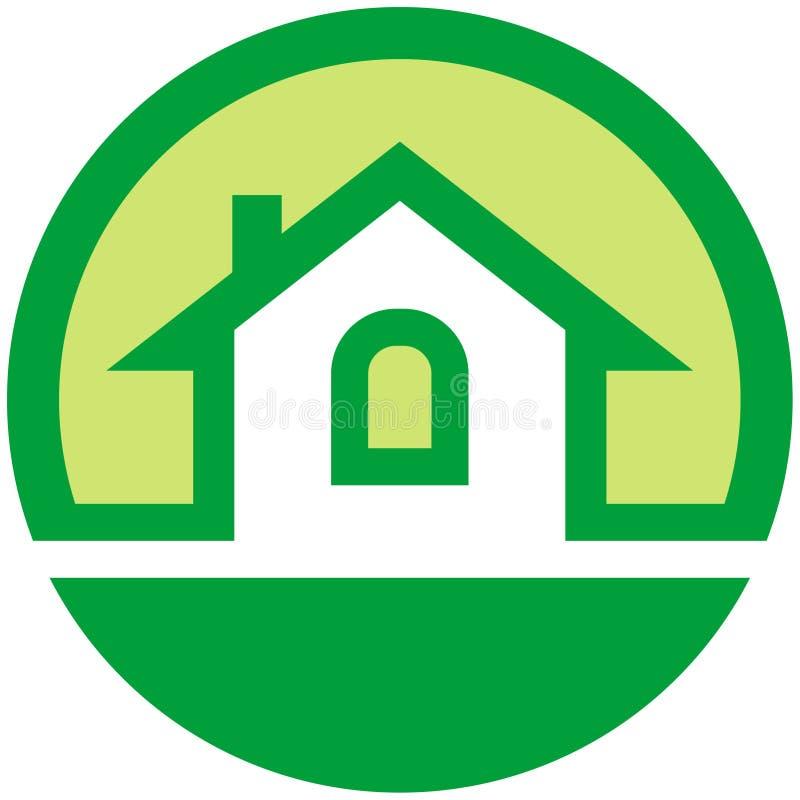emblemata nieruchomości reala wektor ilustracja wektor
