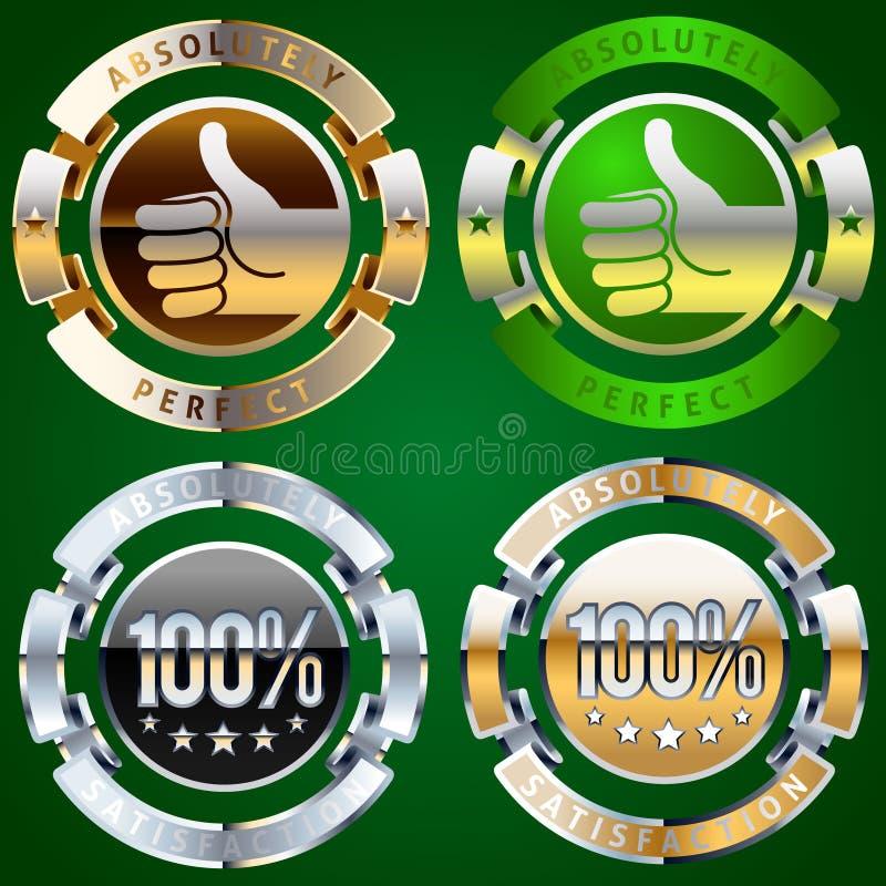 Download Emblemata sukces ilustracja wektor. Obraz złożonej z znakomity - 13113913