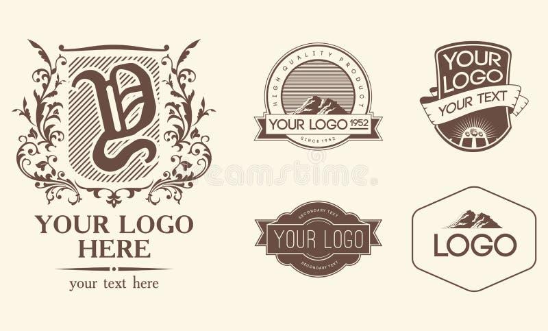 Embleme u. Zeichen stock abbildung