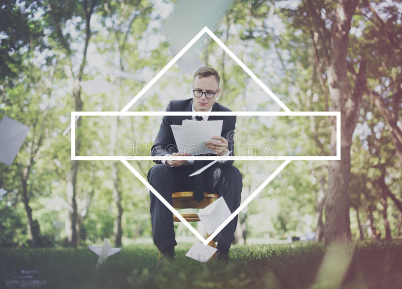 Emblemetikett Mark Brand Copy Space Concept royaltyfria bilder