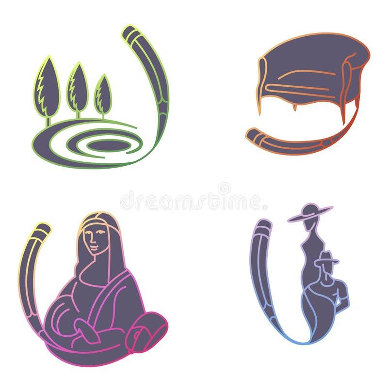 emblemi di progettazione royalty illustrazione gratis
