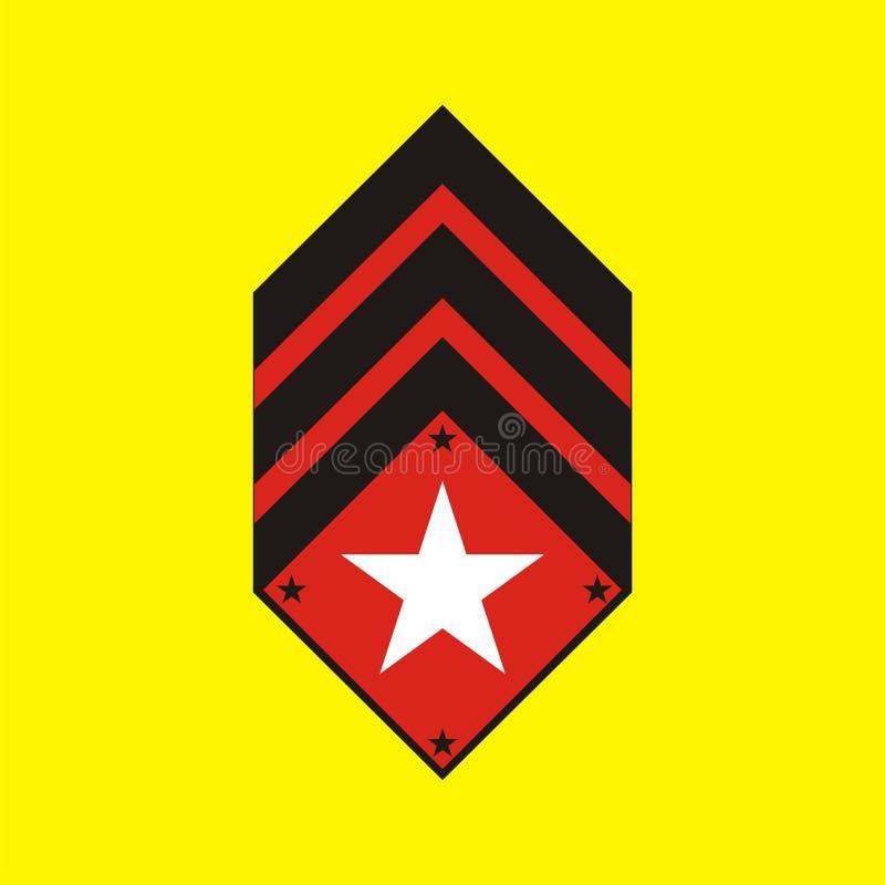 emblemmilitär fotografering för bildbyråer