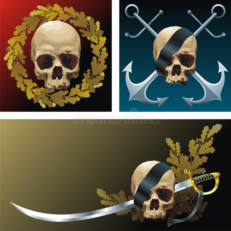 Download Emblems stock vector. Illustration of sepulchral, insignia - 9891250