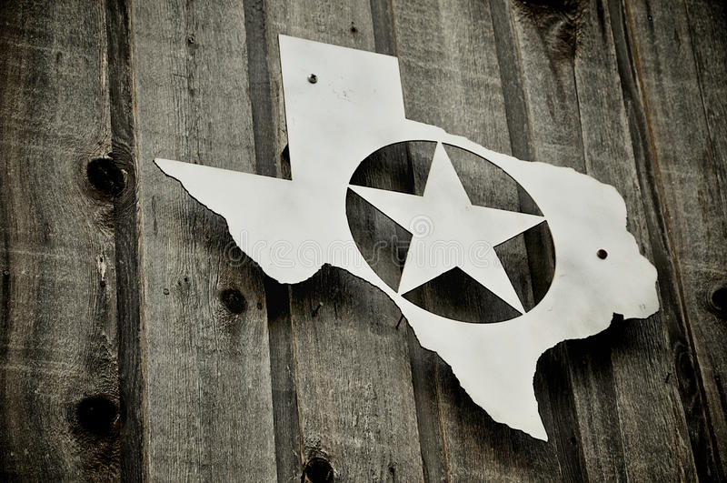 emblemsilver texas arkivfoton