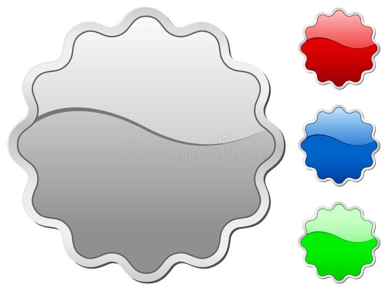 emblemsymboler royaltyfri illustrationer
