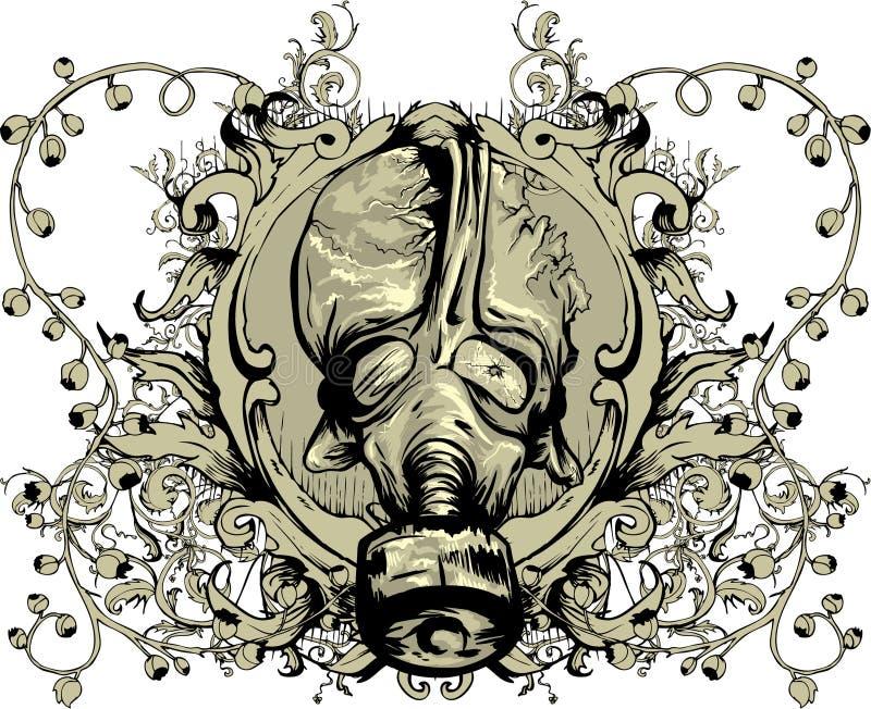 emblemtappning royaltyfri illustrationer