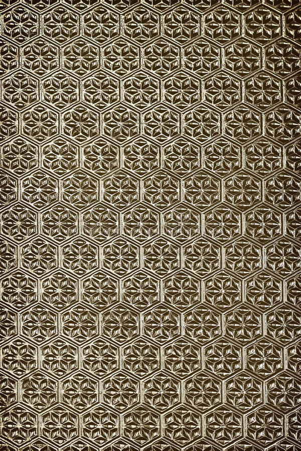 embossed pattern on glass royalty free stock photos