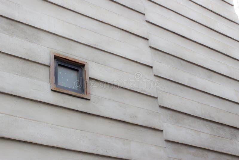 Embossing rzędu typ betonowego budynku ściany projekt zdjęcia royalty free