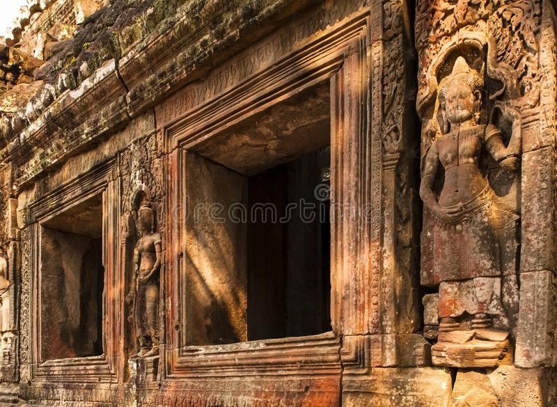 Download Embossment in Angkor Wat stock photo. Image of figure - 30098692