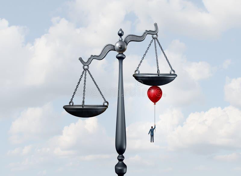 Emboutage des échelles illustration libre de droits