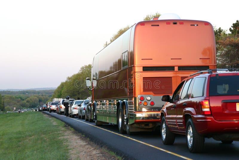 Embouteillage photographie stock libre de droits