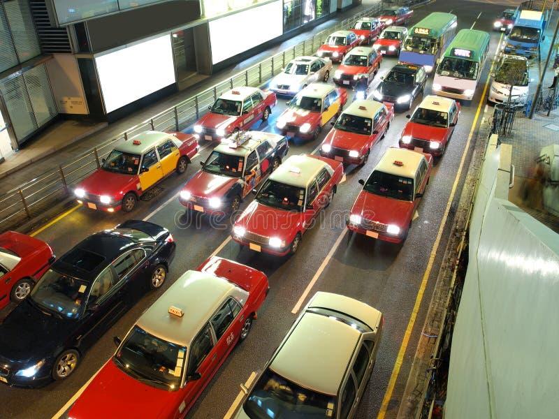 Embouteillage de Hong Kong photo libre de droits