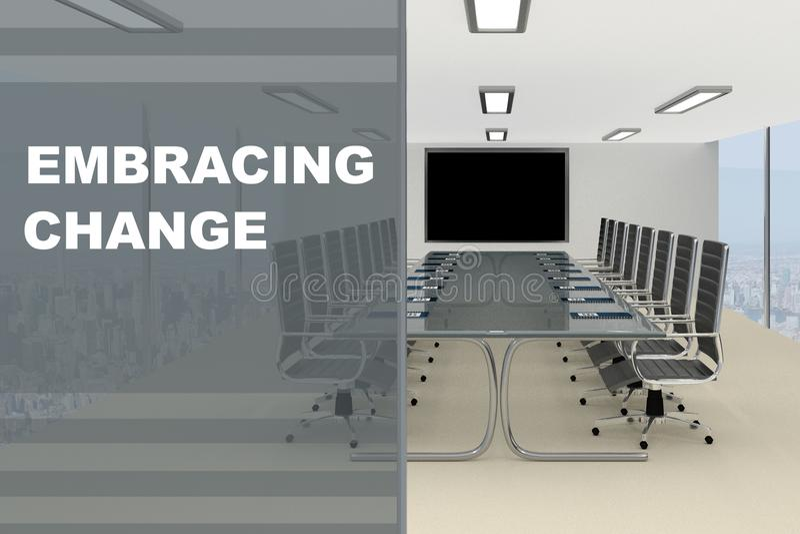 Embracing Change concept vector illustration