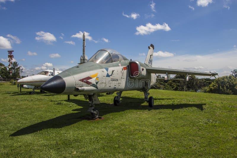 Embraer AMX - mémorial d'Aerospacial de Brésilien (MAB) photo stock