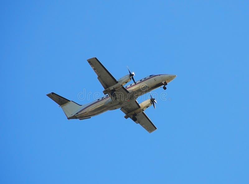 Embraer EMB-120 turboprop airplane stock photo