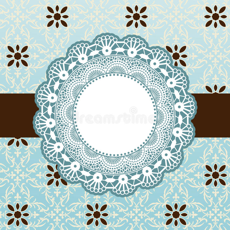 Download Embroidered banner stock vector. Illustration of bargello - 31917415