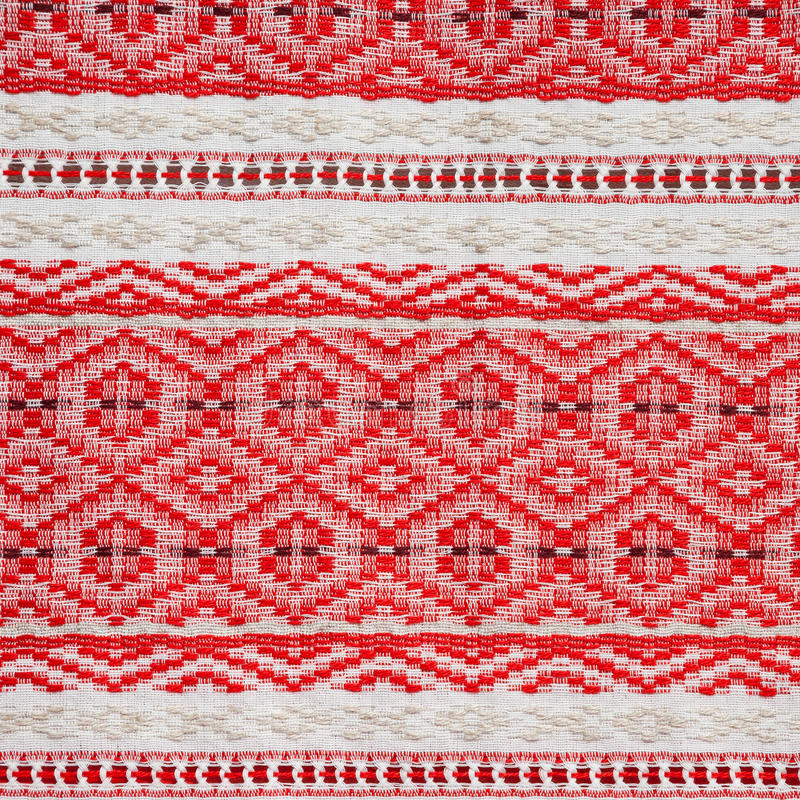 Embroidered ethnic Belarus pattern. Embroidered ornate ethnic Belarus pattern stock photos