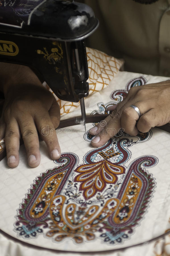 Download Embroidery stock photo. Image of craft, motif, machine - 25203048