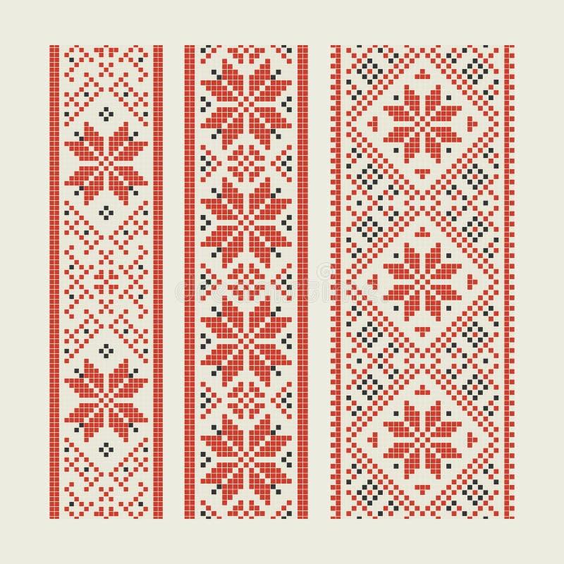 embroidery ilustração royalty free
