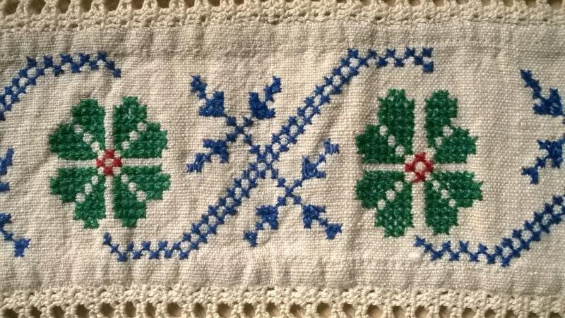 Embroidery2 stock afbeeldingen