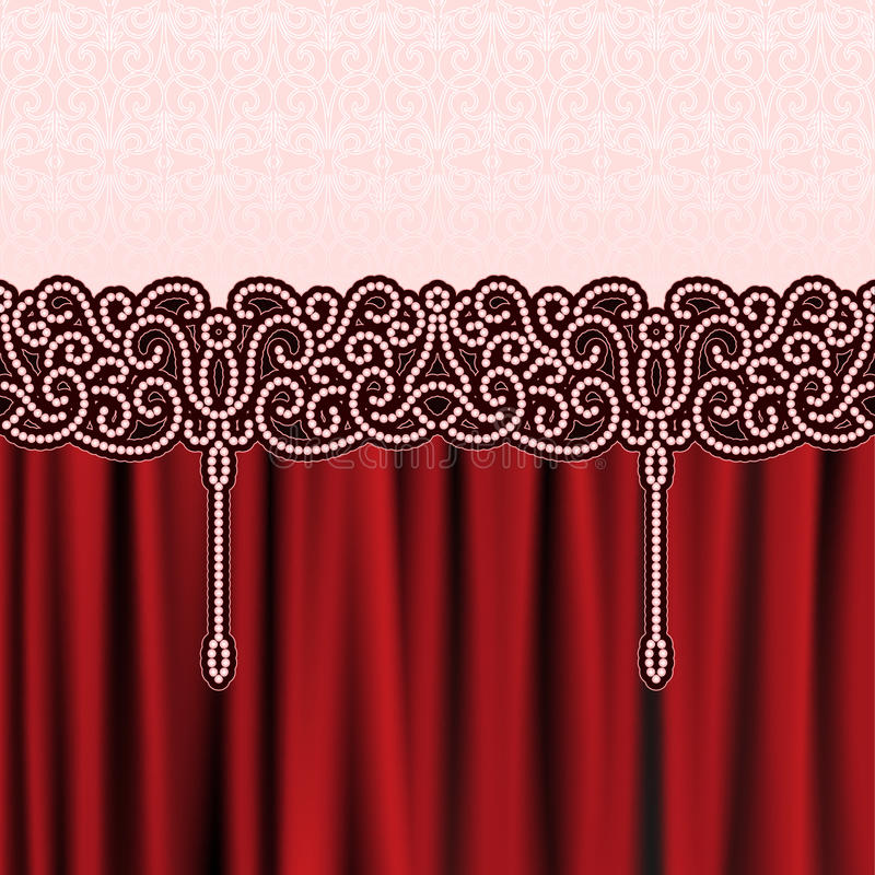 Download Embroidery background stock vector. Image of antique - 28618348