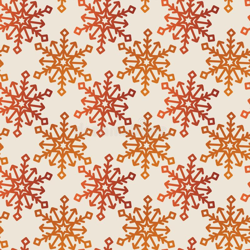Embroidery fashion geometric seamless pattern vector  illustration- fabric designs collections royalty free illustration