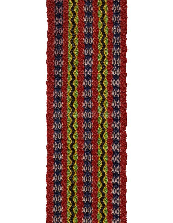 Embroidery folk pattern royalty free stock photo