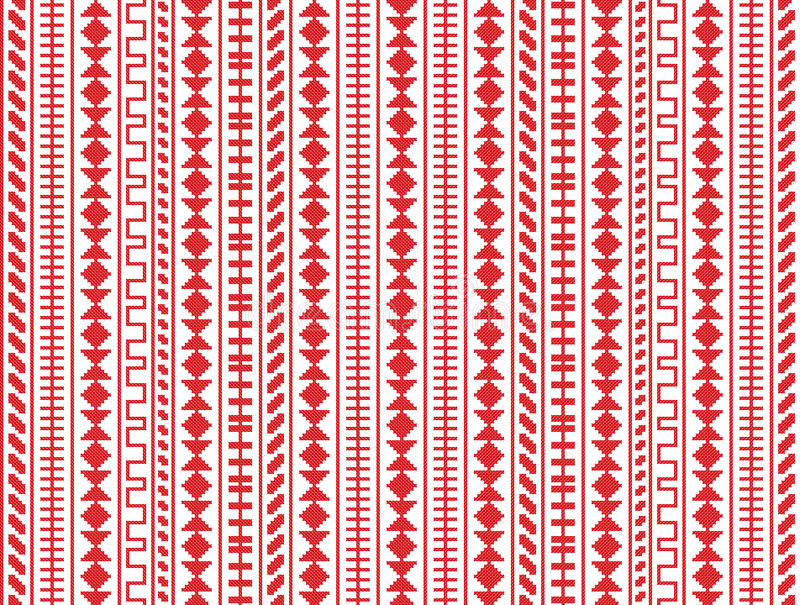 Download Embroidery Seamless Pattern Stock Vector - Image: 23856686