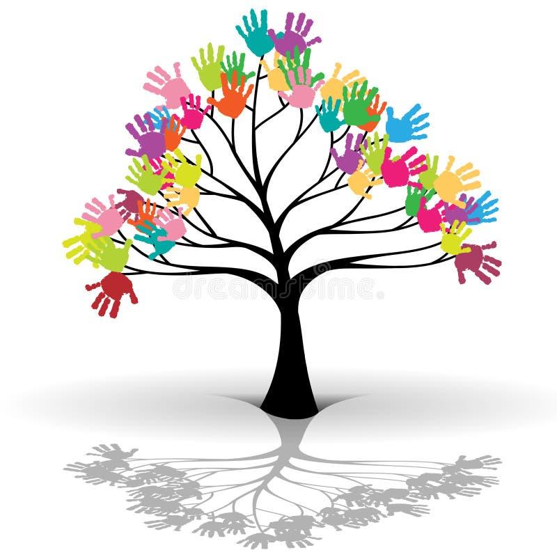 Embroma el árbol libre illustration