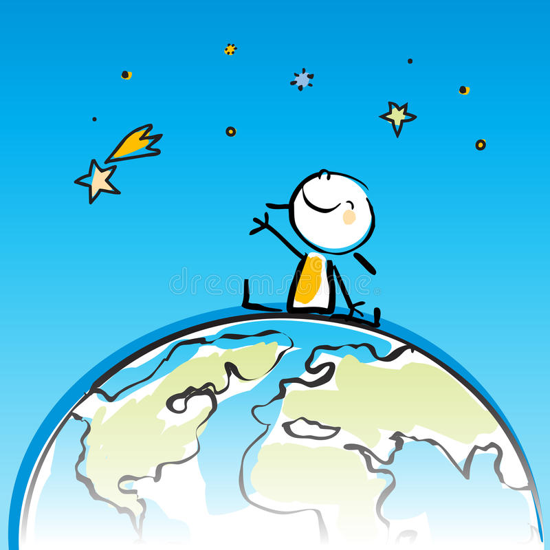 Embroma el globo libre illustration