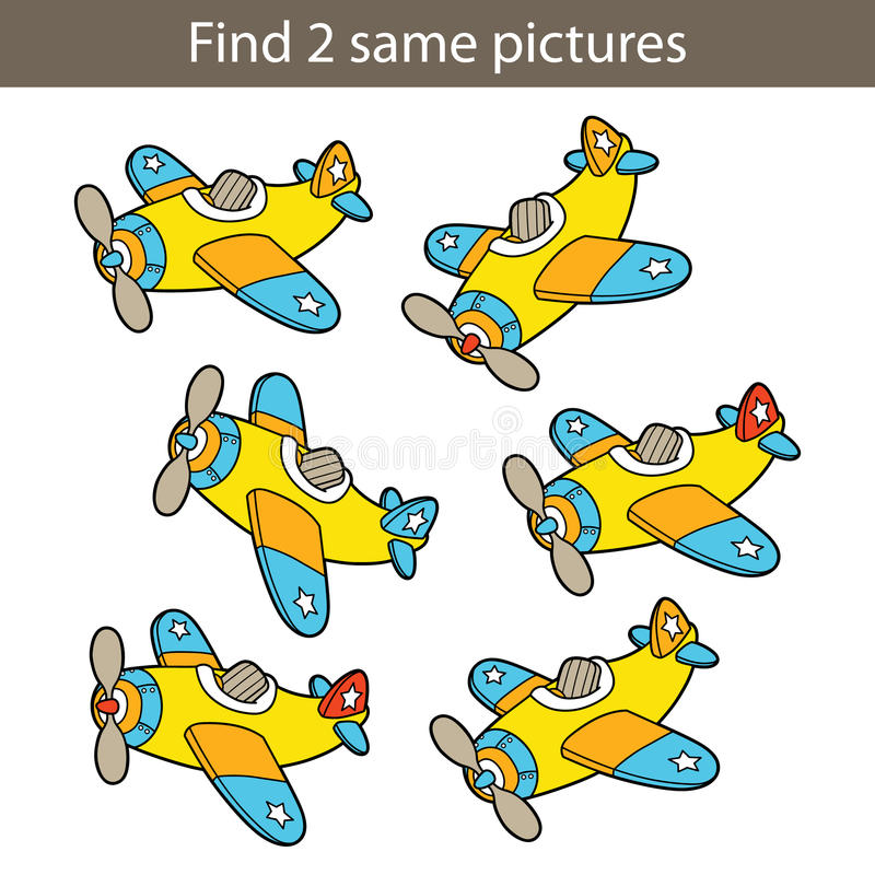 Embroma el juego educativo stock de ilustración