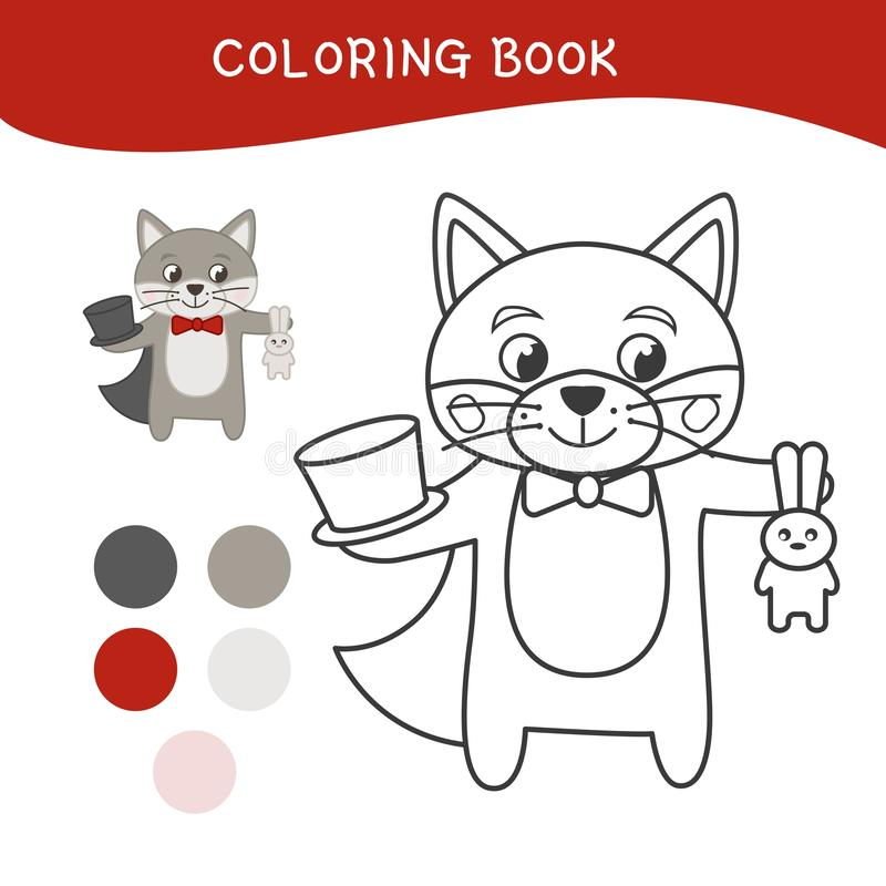 Embroma el libro de colorear libre illustration