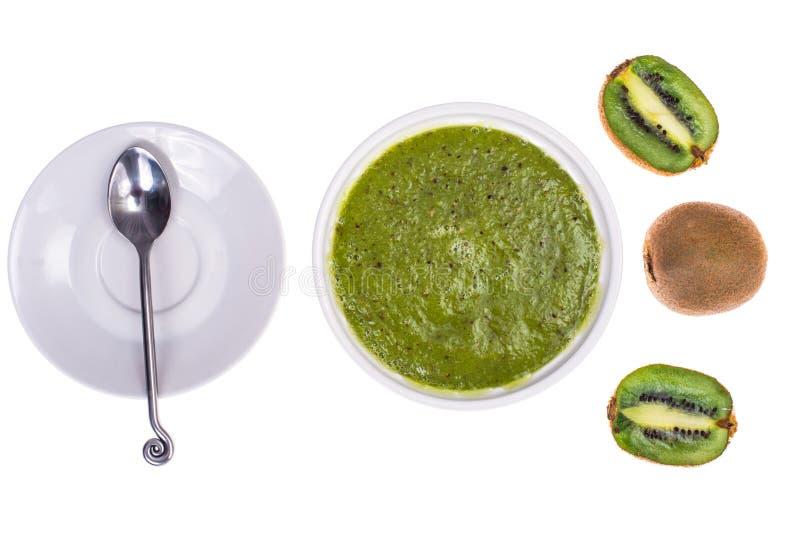Embroma el menú del ` del kiwi imagen de archivo libre de regalías